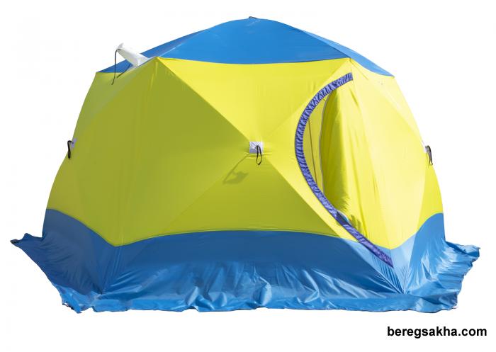 Палатка СТЭК ЧУМ трехслойная, с выводом под трубу, диаметр 4.2 метра