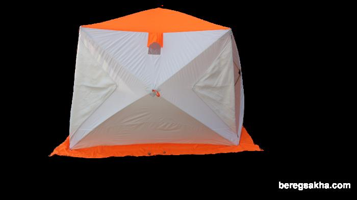 Зимняя палатка Пингвин ЛОНГ 290, УТЕПЛЕННАЯ, (2,90м*2,25м*2,05м)